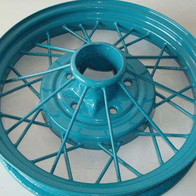 Model A Wheel Powder Coat (Color: Hessian Blue)